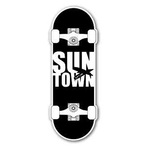 Suntown Skateboarding sticker