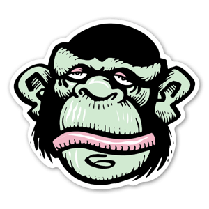 Bobby Brown Funky Monkey custom stickers decals