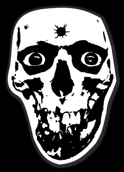 Raid Dead Paranoid sticker