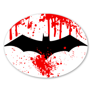 Raid kill batman sticker