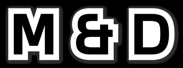 MANDD sticker