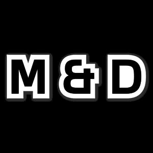 MANDD etiketter