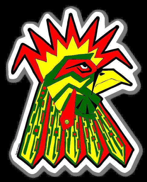 Gallo Macho sticker