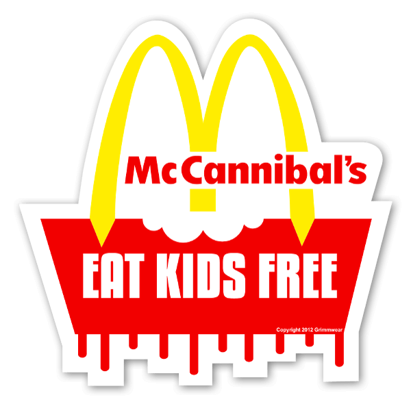 McCannibals sticker