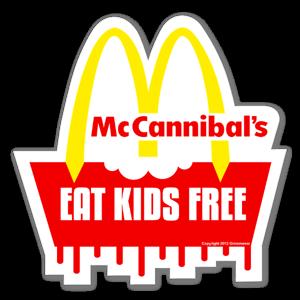 McCannibals sticker