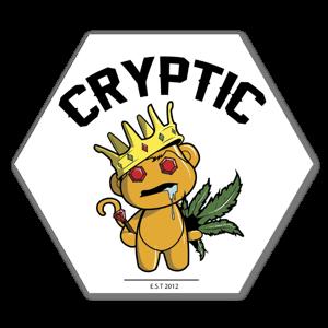 Golden stoner sticker