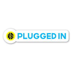 DB USB Plugged in no2 sticker
