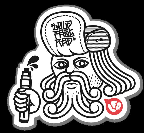 Schakawal poker sticker