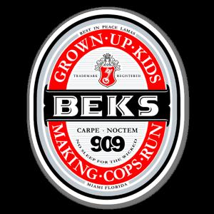 kevin becks sticker