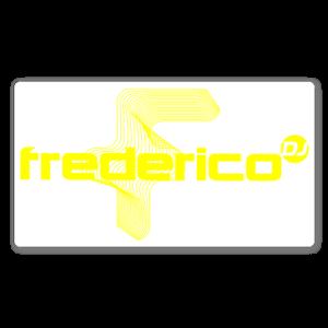 Fredrico yellow sticker