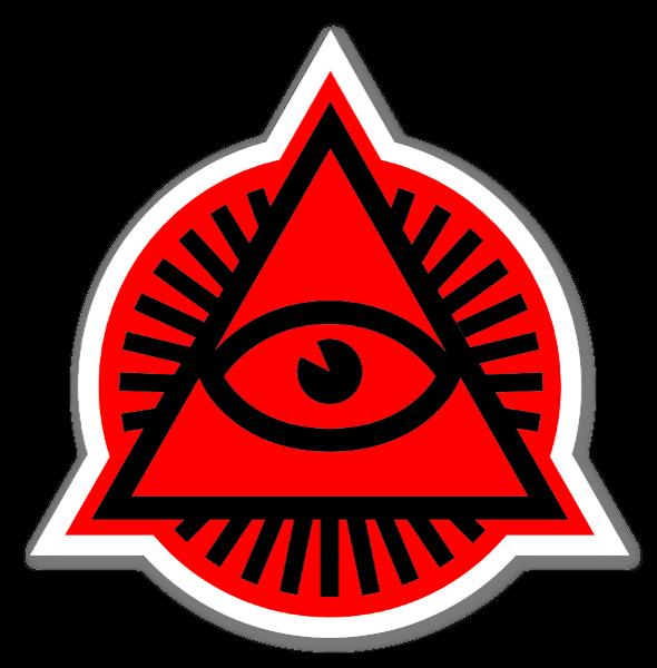 Vincent de boeck red sticker