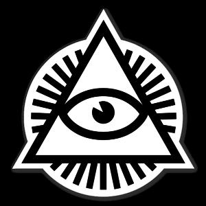 Vincent  De Boeck black sticker