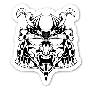 Cryptic Mindz Mask sticker