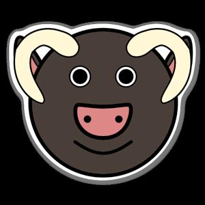 Bull Klistremerker