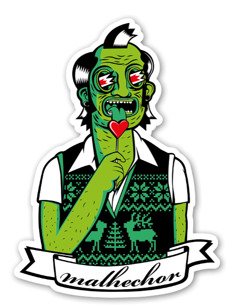Malhechor sticker