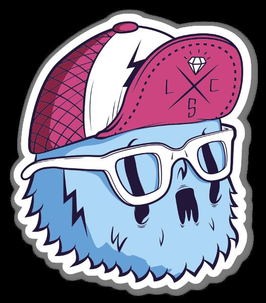 Cote Escriva Owl sticker