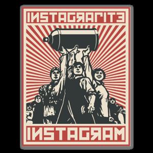 Instagrafite Instagram sticker