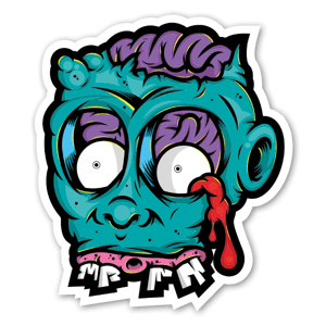DB Zombie sticker