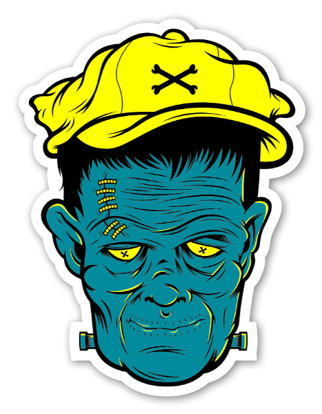 Franky Sticker By Bobby