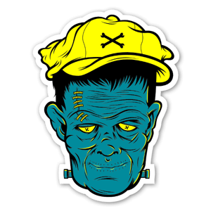 Dangerbrain Franky sticker