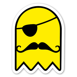 ThePirateGhost sticker
