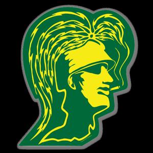 Artist Grimm Smokin Trojan Green sticker