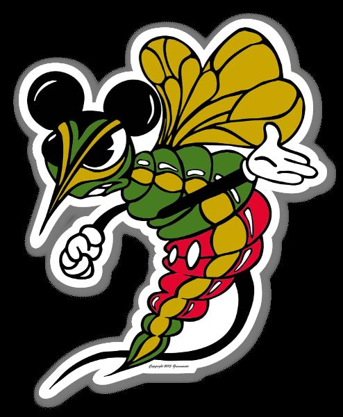 Artist Grimm Drunken Mickeys sticker