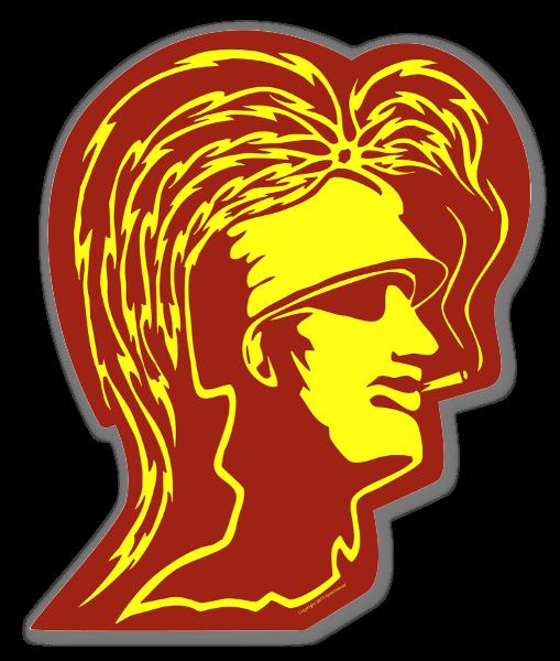 Trojan Gold Klistremerker