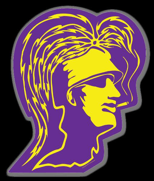 Trojan Lilla sticker
