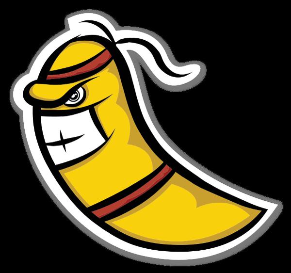 Banana ninja sticker