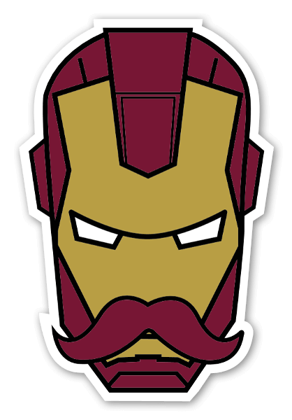 Ironman sticker