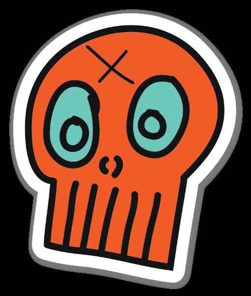Skullfacelogo sticker