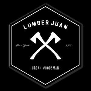 LumberJuanWoodsman New sticker
