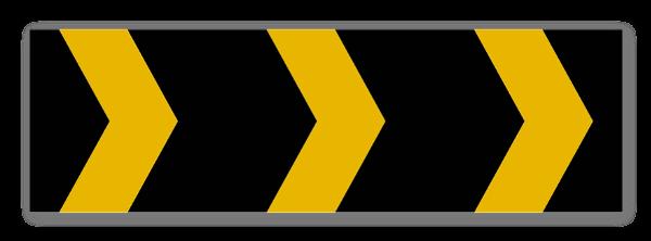 høyre Markeringsskylt klistremerker sticker