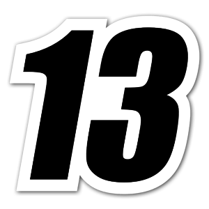 Racing 13 sticker