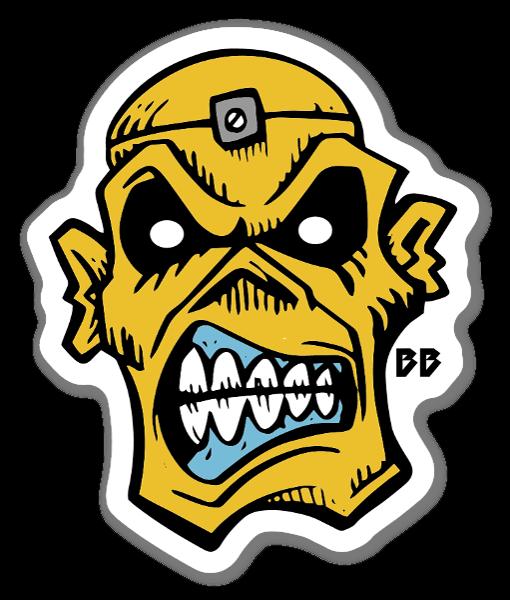 Bobby Ape sticker