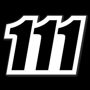 111 sticker