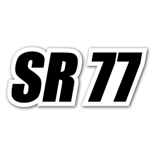 SR 77 sticker