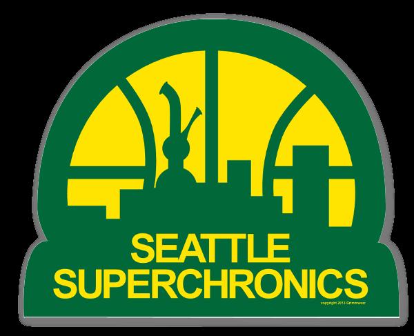 Superchronics sticker