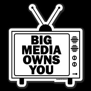 Big Media sticker