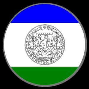 Jämtlands flagga klistermärke