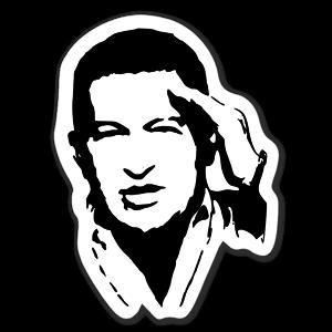 Hugo Chavez sticker