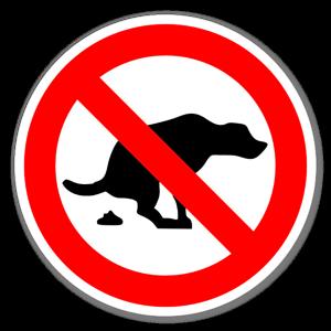 Förbjudetklistermärke sticker