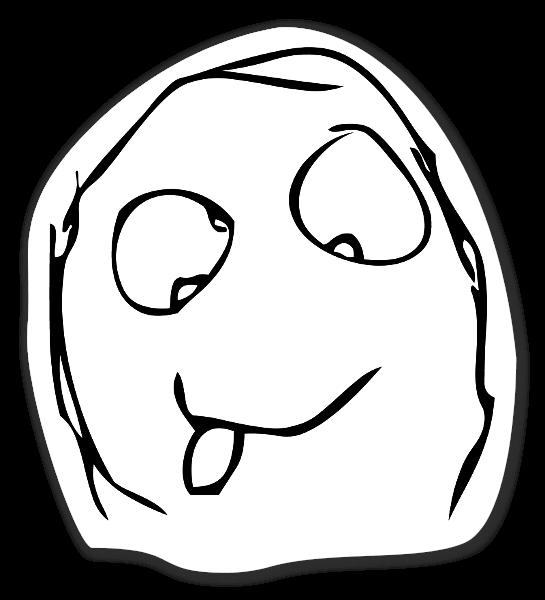 Memes crazy face sticker