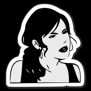 Memes Girl sticker