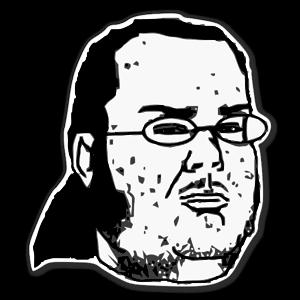 A nerd memes  sticker