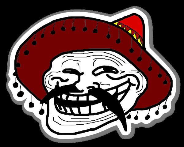 Sombrero sticker