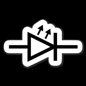 IEC LED Symbol sticker