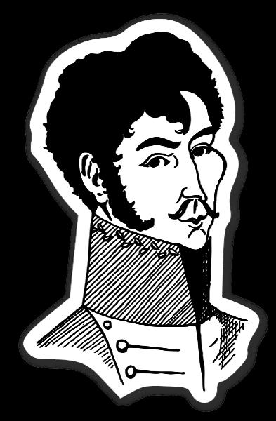 Simon Bolivar klistermærker stickers decals etiketter