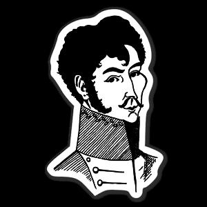 Simon Bolivar sticker